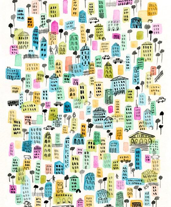Inspirational Image Friday {Rainbow City}