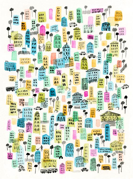 Rainbow City by Vikki Chu