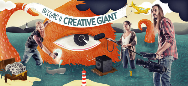 Inspirational Image Friday **Be A Creative Giant**