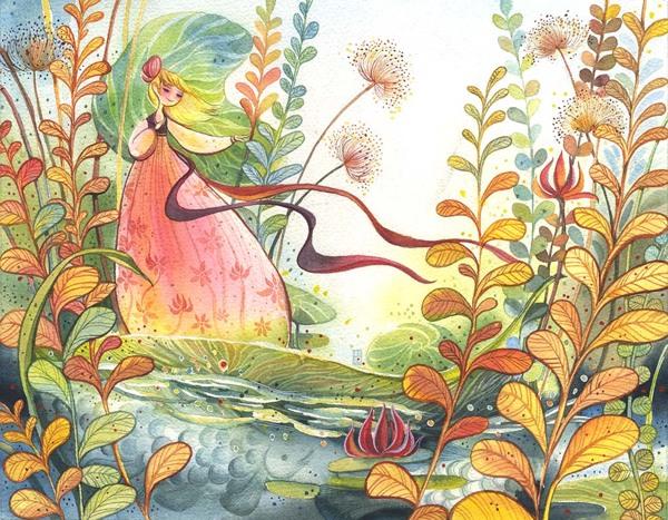 Inspirational Image Friday {Thumbelina}
