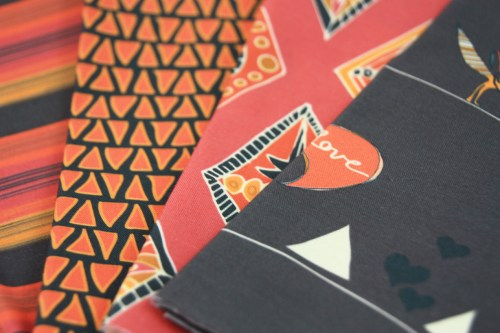 Navii Fabric Collection Tribal Southwest Whimical Fox