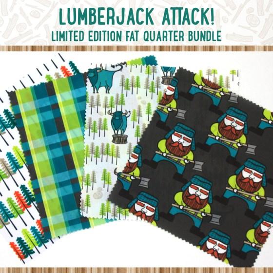 Lumberjack Attack Limited Edition Fat Quarter Bundle Sewing Loft Giveaway