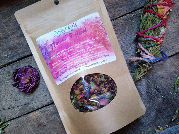 Flowering Heart Summer Cooler Tea Sweet Red Tea