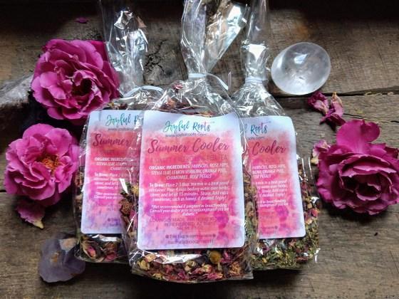 Sweet Summer Cooler Tea Hibiscus and Rose Stevia Koolaide alternative