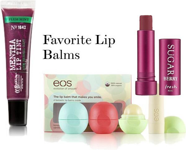 #favorite lip balms