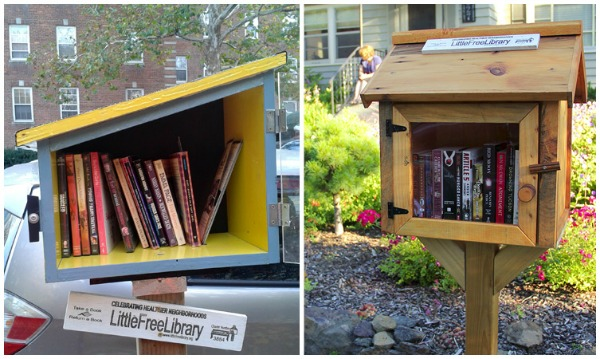 #little free library