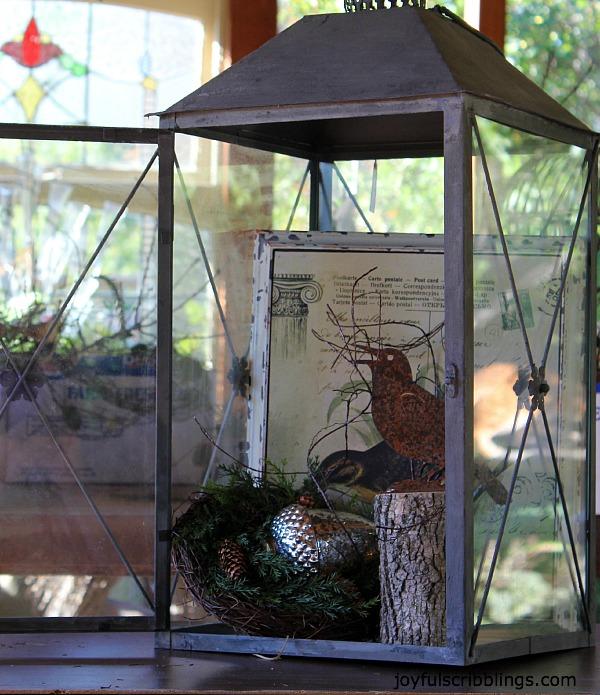 #winter lantern