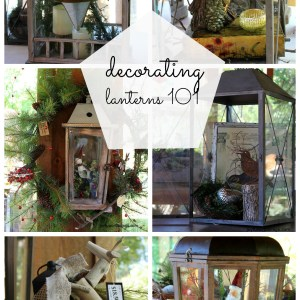 #decorating lanterns