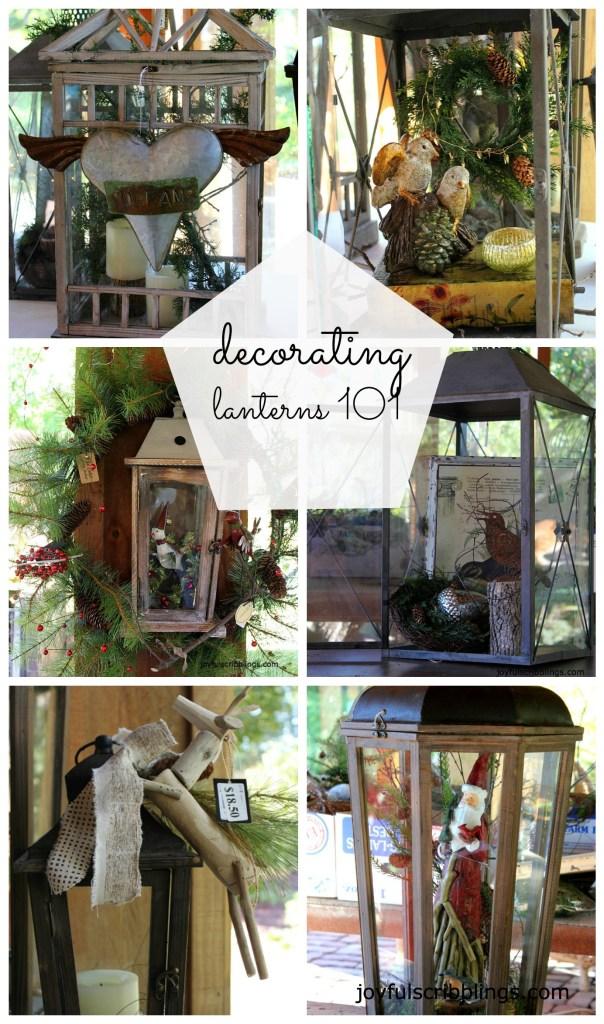 #decorating lanterns