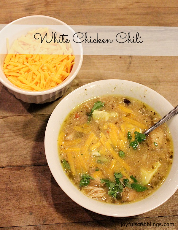 #white chicken chili