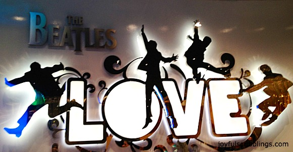 #The Beatles Love Show