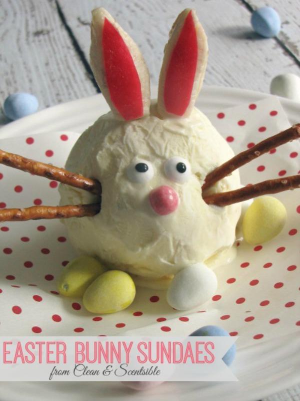 #Easter Bunny Sundaes
