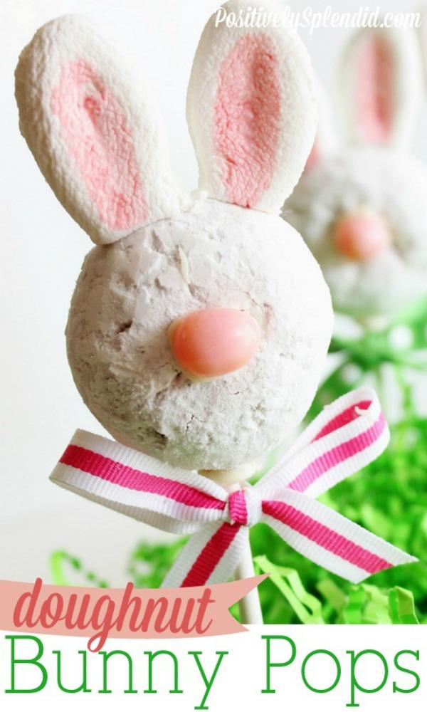 #Doughnut Bunny Pops