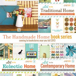 #the handmade home book series