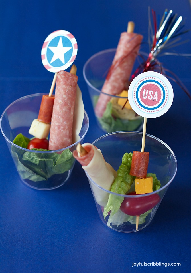 Pool Party Appetizers
