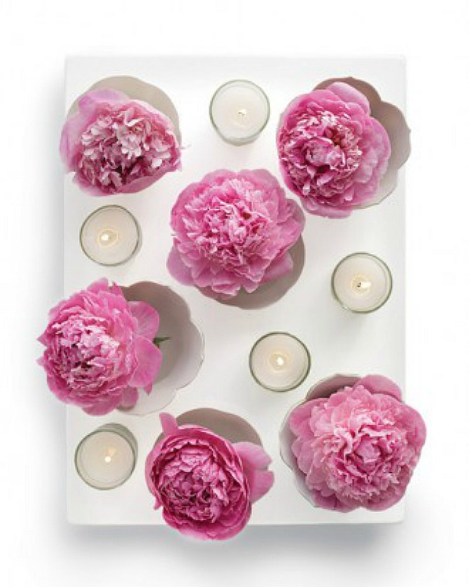 #floating flowers centerpiece