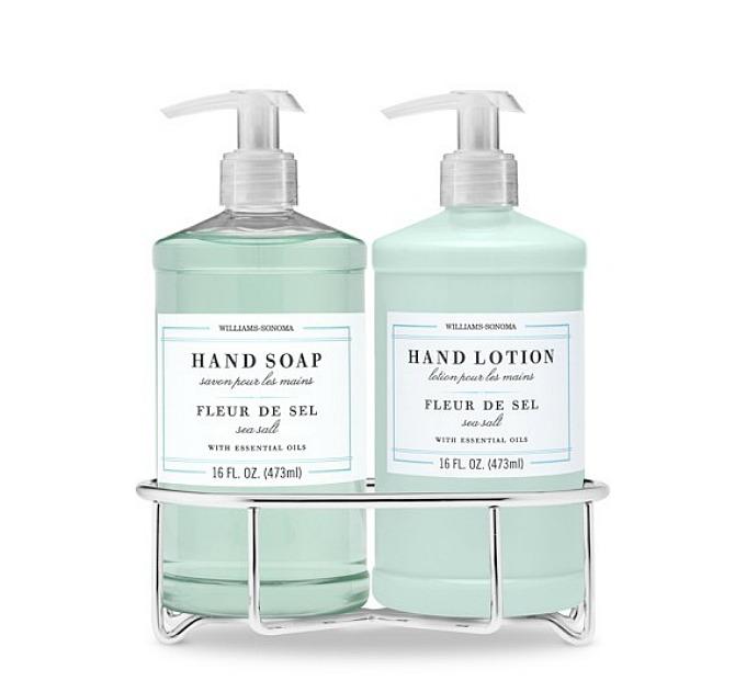 #Williams Sonoma Fleur de Sel hand soap