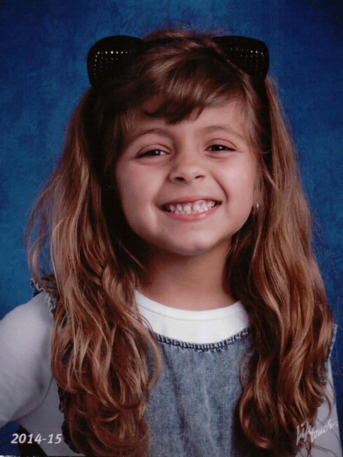 Mia's School Picture