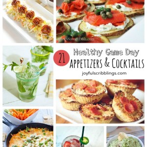 21 Healthy game day recipes