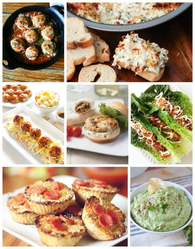 healthy super bowl appetizers