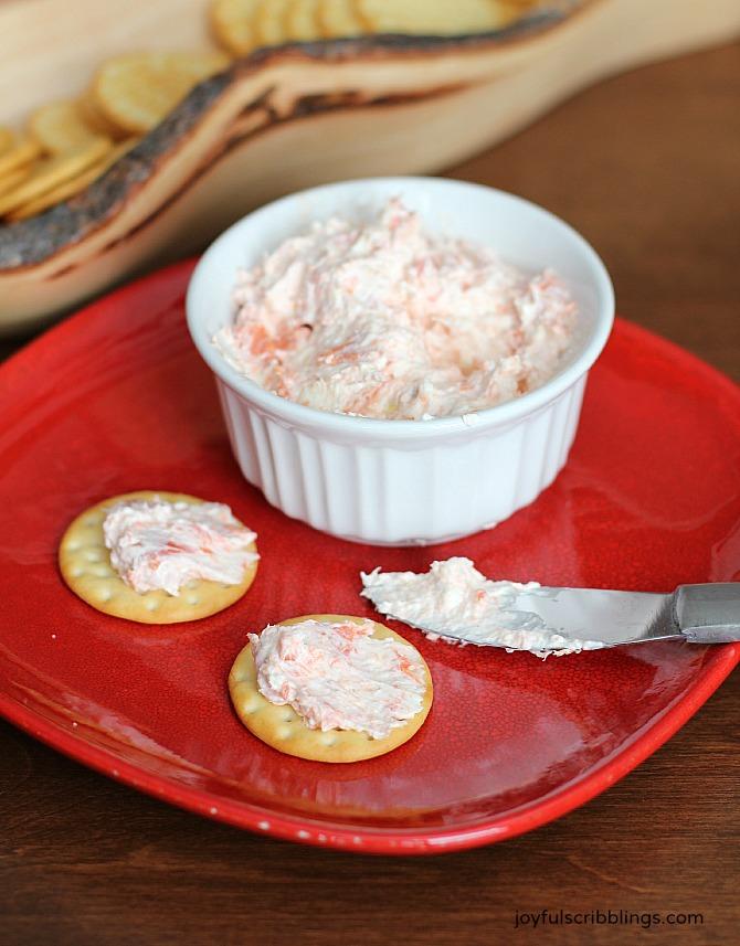 creamy smoked salmon dip