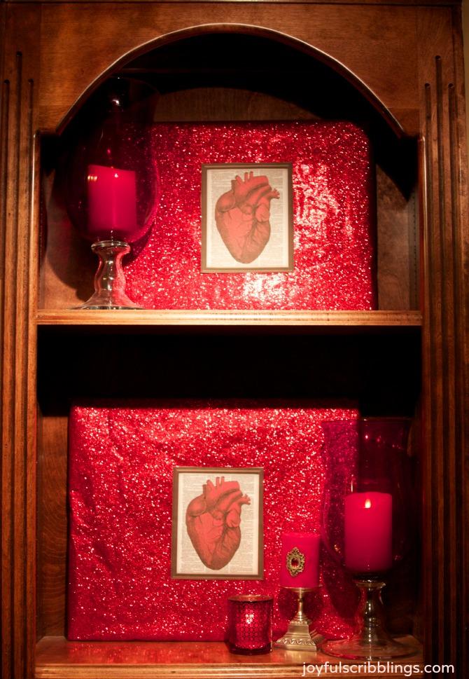 anatomical heart prints