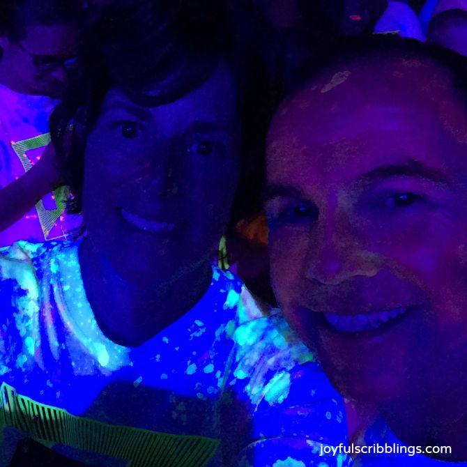 foam glow 5K run
