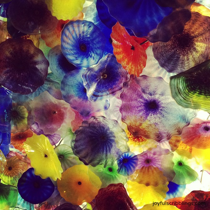 Chihuly Flowers at the Bellagio