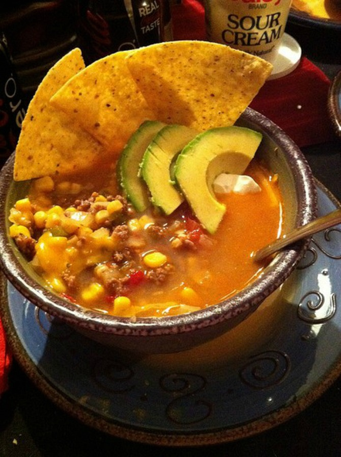 weight watchers taco soup