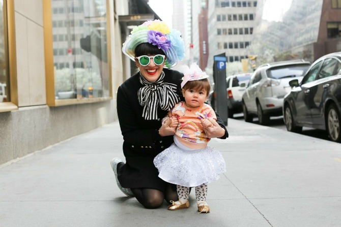 Humans of NY woman and child