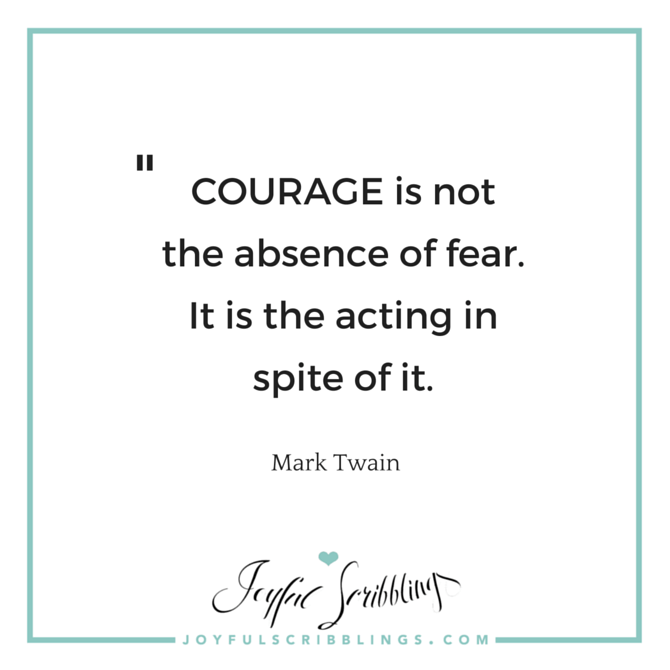 quote on courage