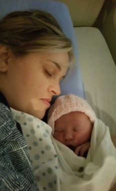 mother and newborn picture