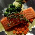 Salmon with Tupelo Honey