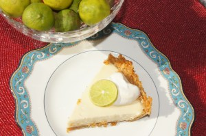 A slice of Key Lime Pie from A Culinary History of Florida