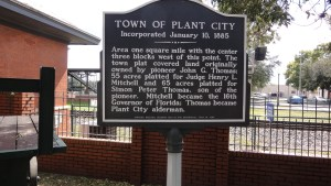 The town of Plant City was incorporated 130 years ago this month.