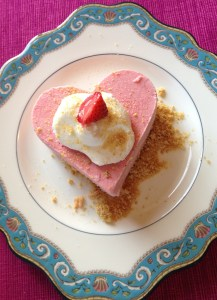 Strawberry Ice Cream Dessert