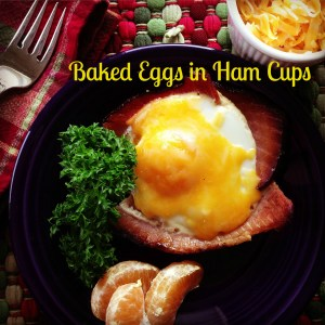 As seen today in the Tampa Bay Times: #CookClub recipe #32. Baked Eggs in Ham Cups with Uncle Pat's Tangerines.