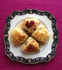 Cream Scones Four Ways