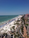The crowds of Clearwater Beach