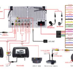 Av Plug Wiring Diagram Toyota Hilux 1992 Joying Head Unit Connection Of Power Cord And Cables