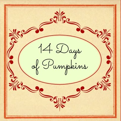 14 Days of Pumpkins www.joyinourhome.com
