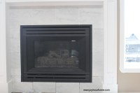 Spray Paint Fireplace Makeover | Joy in Our Home