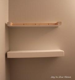 easy diy floating shelves tutorial [ 3456 x 2304 Pixel ]