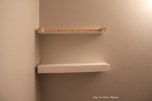 small resolution of easy diy floating shelves tutorial