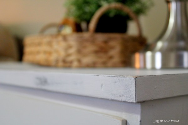 Bedside Table Makeover from www.joyinourhome.com