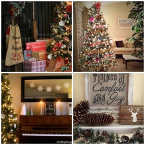 A Holiday Home Tour at www.joyinourhome.com Come join us as 18 fabulous bloggers open their homes to you this Christmas!