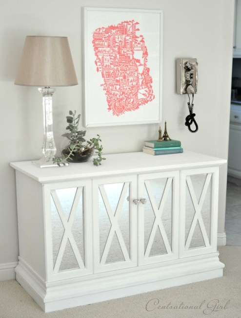 $10 Cabinet Makeover from Centsational Girl