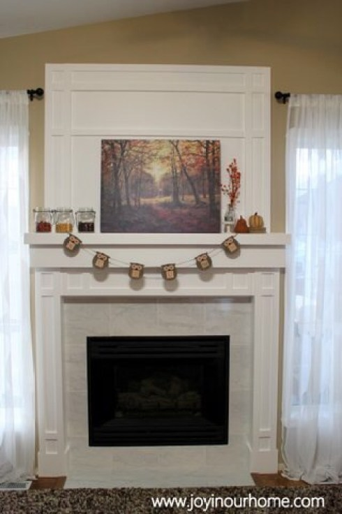 Our Fireplace Transformation at www.joyinourhome.com