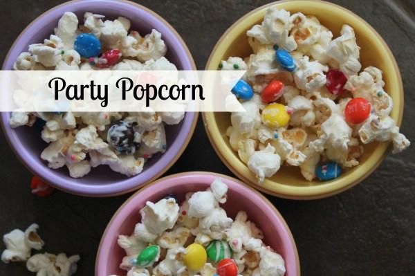 Party Popcorn at www.joyinourhome.com