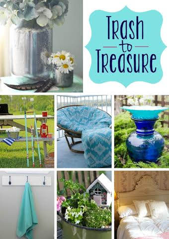 Trash to Treasure Challenge at www.joyinourhome.com